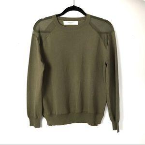 Zara Knits Green Knit Sweater